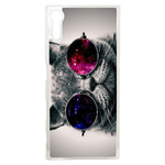 Coque Rigide Pour Sony Xperia Xz Motif Chat Swag Humour