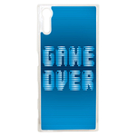 Coque Rigide Geek Game Over 1 Pour Sony Xperia Xz
