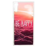 Coque Rigide Be Happy Love Pour Sony Xperia Xz