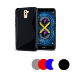 Coque Gel Vague S Pour Honor 6x