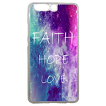 Coque Rigide Faith Hope Love Pour Huawei P10