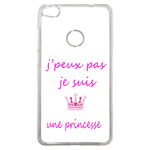 Coque Rigide Pour Huawei P8 Lite 2017 Motif J'peux Pas Je Suis Une Princesse