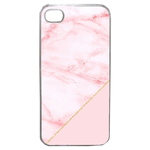 Coque Rigide Pour Apple Iphone 4 - 4s Motif Graphique Marbre Rose