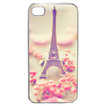 Coque Rigide Pour Apple Iphone 4 - 4s Motif Paris 2 Tour Eiffel France