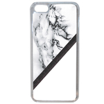 Coque Rigide Pour Apple Iphone 5c Motif Marbre Blanc Noir