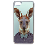 Coque Rigide Pour Apple Iphone 7 Plus Motif Animal Hipster Kangourou