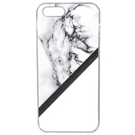 Coque Rigide Pour Apple Iphone Se Motif Marbre Blanc Noir