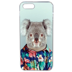 Coque Rigide Pour Apple Iphone Se Motif Animal Hipster Koala