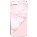 Coque Rigide Pour Apple Iphone Se Motif Graphique Marbre Rose