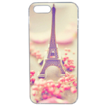 Coque Rigide Pour Apple Iphone 5 - 5s Motif Paris 2 Tour Eiffel France
