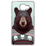 Coque Rigide Pour Samsung Galaxy A3 2017 Motif Animal Hipster Ours