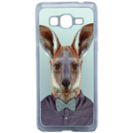 Coque Rigide Pour Samsung Galaxy Grand Prime Motif Animal Hipster Kangourou