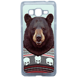 Coque Rigide Pour Samsung Galaxy Grand Prime Motif Animal Hipster Ours