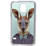 Coque Rigide Pour Samsung Galaxy S5 Mini Motif Animal Hipster Kangourou