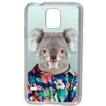 Coque Rigide Pour Samsung Galaxy S5 Mini Motif Animal Hipster Koala
