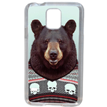 Coque Rigide Pour Samsung Galaxy S5 Mini Motif Animal Hipster Ours