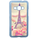 Coque Rigide Pour Samsung Galaxy J1 2016 Motif Paris 2 Tour Eiffel France