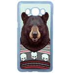 Coque Rigide Pour Samsung Galaxy J7 2016 Motif Animal Hipster Ours