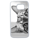Coque Rigide Pour Samsung Galaxy Note 8 Motif Chat Gris Humour