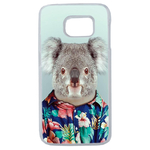 Coque Rigide Pour Samsung Galaxy S6 Edge Motif Animal Hipster Koala