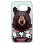 Coque Rigide Pour Samsung Galaxy S6 Edge Motif Animal Hipster Ours
