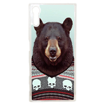 Coque Rigide Pour Sony Xperia Xz Motif Animal Hipster Ours