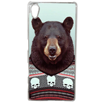 Coque Rigide Pour Sony Xperia Z5 Motif Animal Hipster Ours