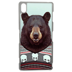 Coque Rigide Pour Sony Xperia Z3 Motif Animal Hipster Ours