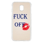 Coque Rigide Pour Samsung Galaxy J5 2017 Fuck Off Humour Fille
