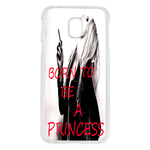 Coque Rigide Pour Samsung Galaxy J3 2017 Motif Born To Be a Princess