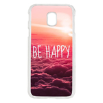 Coque Rigide Pour Samsung Galaxy J3 2017 Motif Be Happy Love