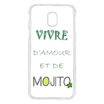 Coque Rigide Pour Samsung Galaxy J3 2017 Humour Mojito Apéro