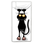 Coque Rigide Pour Apple Iphone Xs Motif Chat Humour