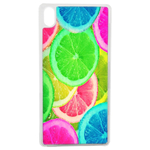 Coque Rigide Pour Apple Iphone Xs Max Motif Citron Flash Coloré Été