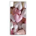 Coque Rigide Coeur Bonbon Pour Apple iPhone X