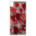 Coque Rigide Coeur Vintage Pour Apple iPhone X