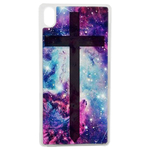 Coque Rigide Croix Galaxie Pour Apple iPhone X