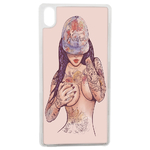 Coque Rigide Girl Tatoo Pour Apple iPhone X