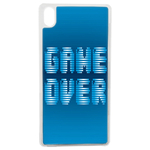 Coque Rigide Geek Game Over 1 Pour Apple iPhone X