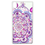 Coque Rigide Pour Apple Iphone Xr Motif Mandala Rose