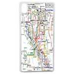 Coque Rigide Carte De Metro Pour Apple iPhone X