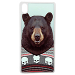 Coque Rigide Pour Apple Iphone Xs Max Motif Animal Hipster Ours