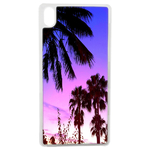 Coque Rigide Pour Apple Iphone Xr Motif Palmier Couché Soleil