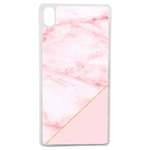 Coque Rigide Pour Apple Iphone Xs Motif Graphique Marbre Rose