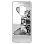 Coque Rigide Pour Samsung Galaxy S9 Plus Motif Chat Gris Humour