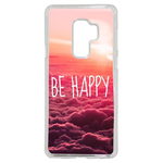 Coque Rigide Be Happy Love Pour Samsung Galaxy S9