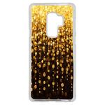 Coque Rigide Pour Samsung Galaxy S9 Plus Motif Pluie D'or Gold
