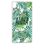 Coque Rigide Feuillage Tropical Aloha Pour Apple Iphone X