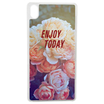 Coque Rigide Enjoy Fleur Vintage Pour Apple Iphone X