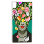Coque Rigide Pour Apple Iphone Xs Motif Frida Kahlo 2 Vintage